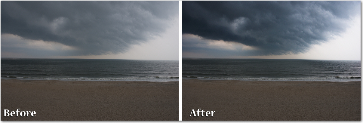 Adobe Photoshop: Before and After