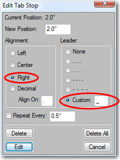 Adobe FrameMaker: Add an underscore for the custom underline