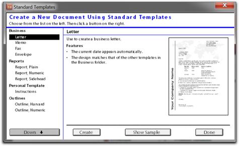 Adobe FrameMaker 9/10: Explore Standard Templates
