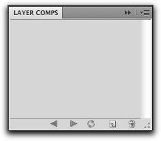 Adobe Photoshop: Layer Comps panel