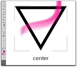 Adobe Illustrator CS5: Draw Normal means draw new objects on top of existing objects