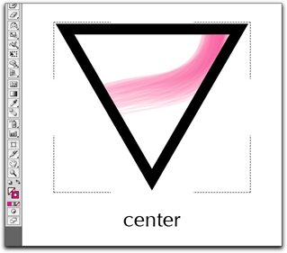Adobe Illustrator CS5: Draw Inside means draw inside of an existing object