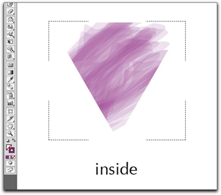 Adobe Illustrator CS5: Draw Inside with an Inside Stroke on the clipping object