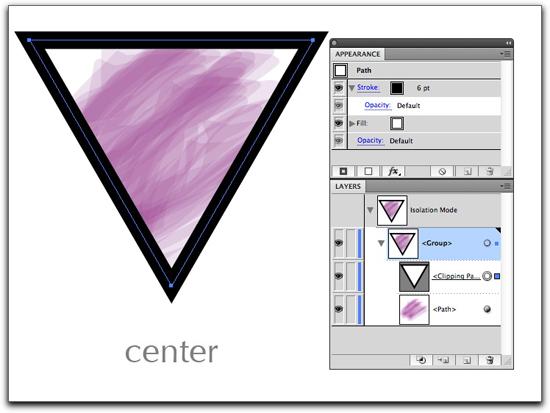 Adobe Illustrator CS5: Set the Stroke back to Center