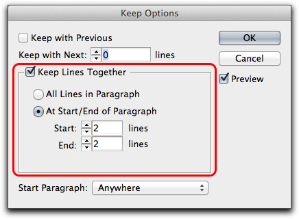 Adobe InDesign CS6: Enhanced split and span support