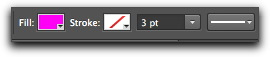 Adobe Photoshop CS6: The revised vector options bar