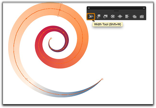 Adobe Illustrator CS6: Add the variable width tool and let the fun begin!