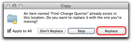 Adobe InDesign CS6: Replace the existing folder(s) with the one you copied from the previous version.