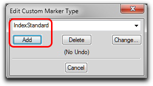 Adobe FrameMaker: Adding a custom index marker