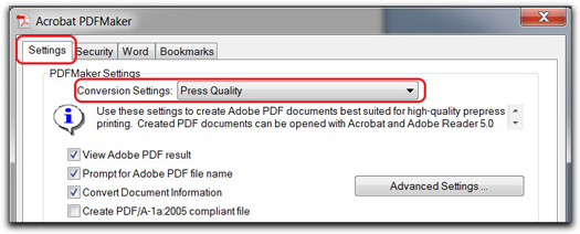 Acrobat Job Options: More compression can lead to fuzzy images