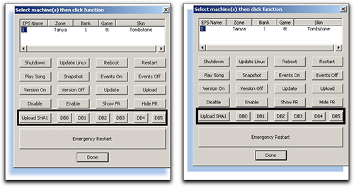 Adobe Acrobat: Original screen shot (left) and after the PDF conversion (right).