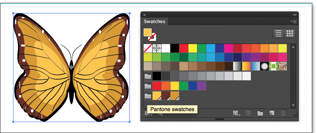 Adobe Illustrator CC 2014: Organize them into a Color Group in the Swatches panel.